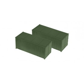 Roco 05100 Two-piece set 20 feet container