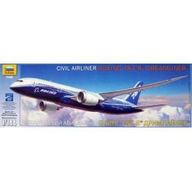 "Zvezda 7008 Flygplan Civil Airliner Boeing 787-8 ""Dreamliner ""Norwegian - Thor Heyerdahl"""