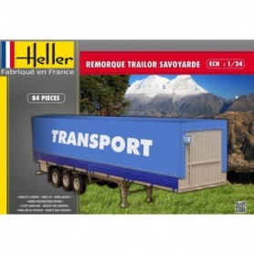 "Heller 80771 Canvas Trailer ""Transport"""
