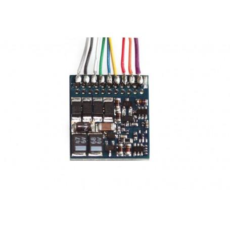 ESU 54620 LokPilot Fx V4.0, functional decoder MM/DCC/SX, 8-pin plug NEM652, Cable