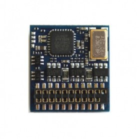 ESU 54621 LokPilot Fx V4.0, functional decoder MM/DCC/SX, 21MTC NEM660