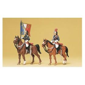 Preiser 10460 Garde Républicaine till häst, 2 st