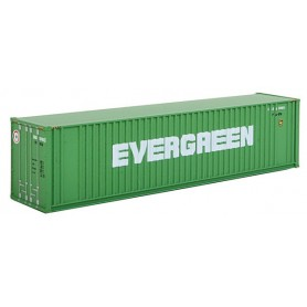"Walthers 8802 Container 40' Hi Cube Ribbed Side Container ""Evergreen"""