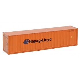 "Walthers 8804 Container 40' Hi Cube Ribbed Side Container ""Hapag-Lloyd"""