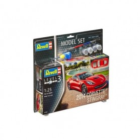 "Revell 67060 Corvette Stingray 2014 ""Gift Set"""