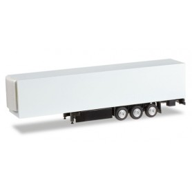 Herpa 084512 Refrigerated trailer with palett box Content: 2 pcs.