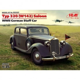 ICM 35537 Typ 320 (W142) Saloon WWII German Staff Car