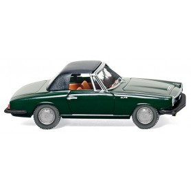 Wiking 18698 Glas 1700 GT convertible dark green, 1965