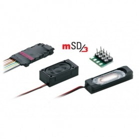 """Märklin 60985.3 Ljuddekoder mSD/3 """"SJ V5"""", passar för bl.a. 3132, 33789"""