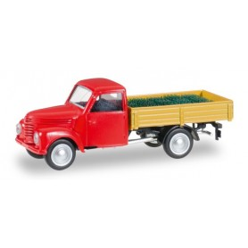 Herpa 092579 Framo 901/2 canvas trailer with beer crate