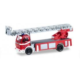 "Herpa 092517 Mercedes Benz Metz turnable ladder DLK ""Buehl fire department"""