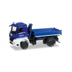 "Herpa 092562 Mercedes-Benz Arocs dump truck with crane ""THW"""