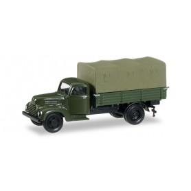 "Herpa 745475 Ford cologne canvas trailer ""Bundeswehr"""