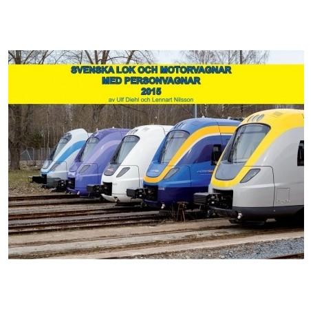 Media BOK253 Svenska Lok och Motorvagnar med Personvagnar 2015