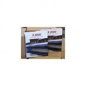 Media BOK254 X 2000 - Enklare än flyget. Snabbare än tåget