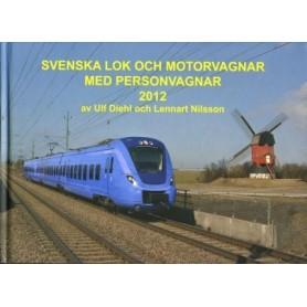Media BOK255 Svenska Lok och motorvagnar med personvagnar 2012