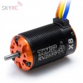 SkyRC SK400001.03 Motor borstlös 6-polig X8 2650KV 1:8