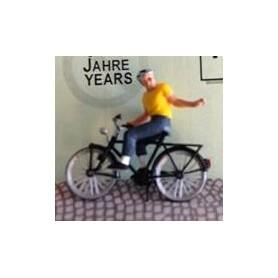 """Bicyc Led 878003 Cykel med belysning """"Kille med hjälm"""""""