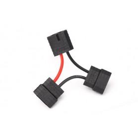 Traxxas 3063X Y-Kabel för seriekopplade batterier ID kontakter