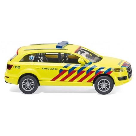 "Wiking 07117 Audi Q7 ""Dutch Ambulance"""