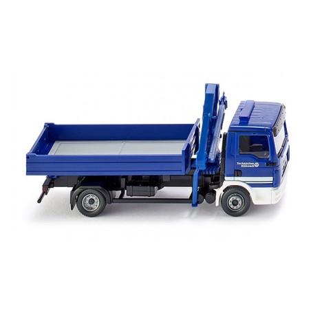 """Wiking 69319 MAN TGL flatbed truck """"THW"""""""