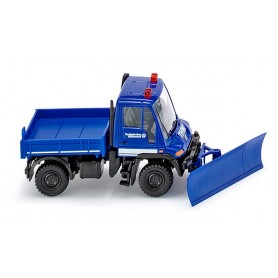 Wiking 69322 THW - Unimog U 400 with grader blade