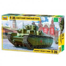 Zvezda 3667 Tanks T-35 Soviet Heavy Tank