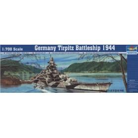 Trumpeter 05712 Fartyg Germany Tirpiz Battleship 1944