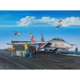 Trumpeter 03201 Flygplan F-14A Tomcat