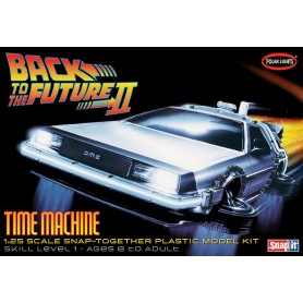 "Polar Lights 925 Back To The Future II ""Time Machine Mark II"""