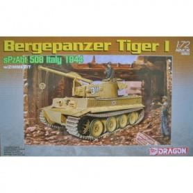 Dragon 7210 Tanks Bergepanzer Tiger I SPzAbt 508 Italy 1944 with Zimmerit