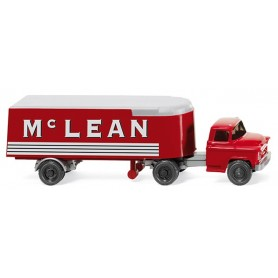 "Wiking 52101 Semi-trailer truck (Chevrolet) ""Mc LEAN"", 1955"
