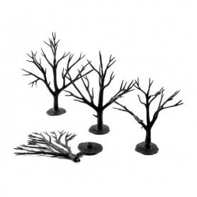 Woodland Scenics TR1122 Trädbyggsats, 28 st träd utan barrmaterial, höjd 7.62 - 12.7 cm