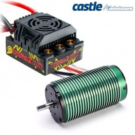 Castle 010010801 Mamba Monster 2 1:8 25V WP ESC & 1515-2200KV Motor