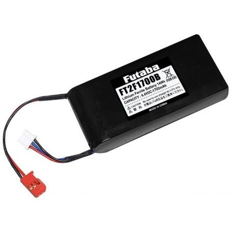 Futaba EBA0140 Sändarbatteri Li-Fe 2S 6,6V 1700mAh 4PX/4PKS/4PL/6J/8J/14SG