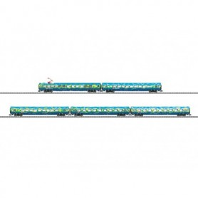 "Trix 15425 Vagnsset med 5 personvagnar typ DB AG ""Tourism Train"""