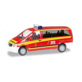 "Herpa 092630 Mercedes-Benz Vito ELW ""Muenchen fire department"""