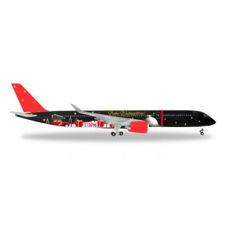 Herpa 529457 Flygplan Christmas 2016 Airbus 350-900