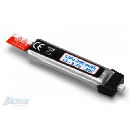 Airnox 10100 Li-Po Batteri 1S 3,7V 200mAh Airnox