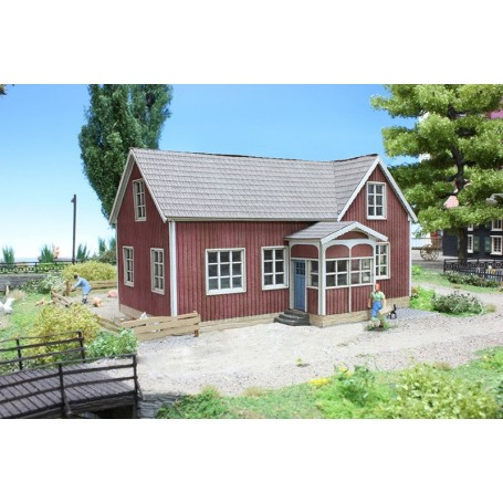 """Joswood 25006 Svensk byskola """"Vissefjärda"""""""