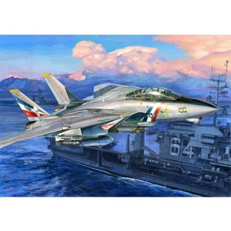 Trumpeter 03203 Flygplan F-14D Super Tomcat