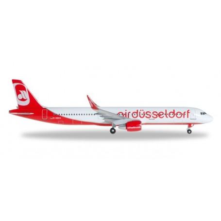 Herpa 528832 Flygplan airdüsseldorf Airbus A321