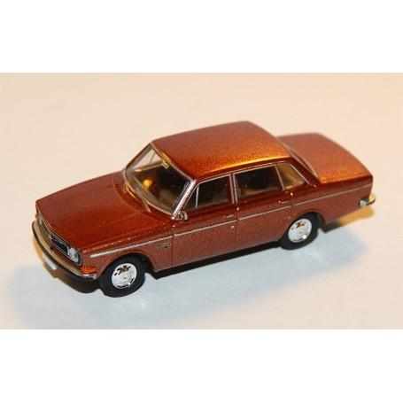 Brekina 29417 Volvo 144, brunmetallic