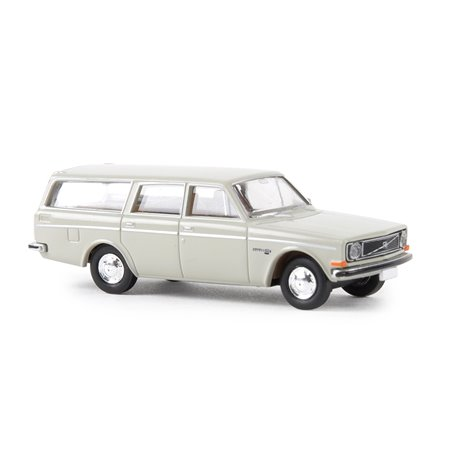 Brekina 29461 Volvo 145 Kombi, ljusgrå
