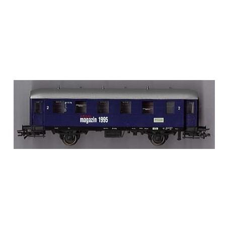 """Märklin 84235 Personvagn 2:a klass 98 112 Stg """"Märklin Magazin 1995"""""""