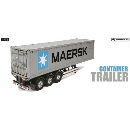 Tamiya 56326 RC Container Trailer Maersk - 40ft 3-Axle