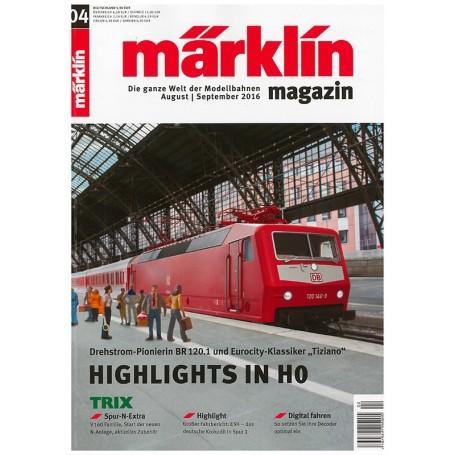 Märklin 269731 Märklin Magazin 4/2016 Tyska