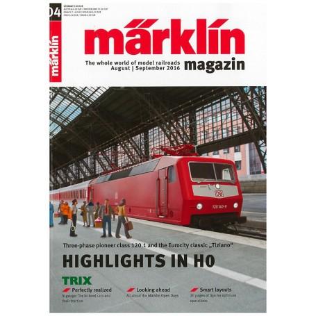Märklin 269732 Märklin Magazin 4/2016 Engelska