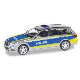 """Herpa 092692 Mercedes Benz C-Klasse T-Modell """"Polizei Saarland"""""""