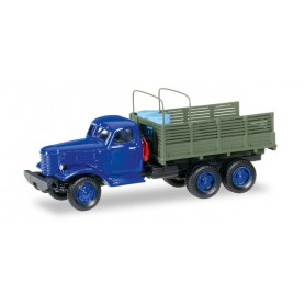 "Herpa 745581 ZIS 151 truck with loading ""Ministry for geology of UDSSR (1954-1965)"""